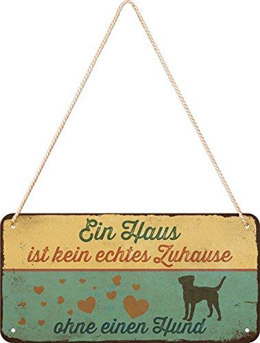 Tarro L L Cartel de Huellas de Dog bisquits 10/x 14/x 20/cm Nostalgic-Art 30145 Metal