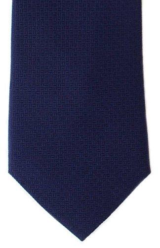 (Michelsons of London Mens Basket Weave Silk Tie -)