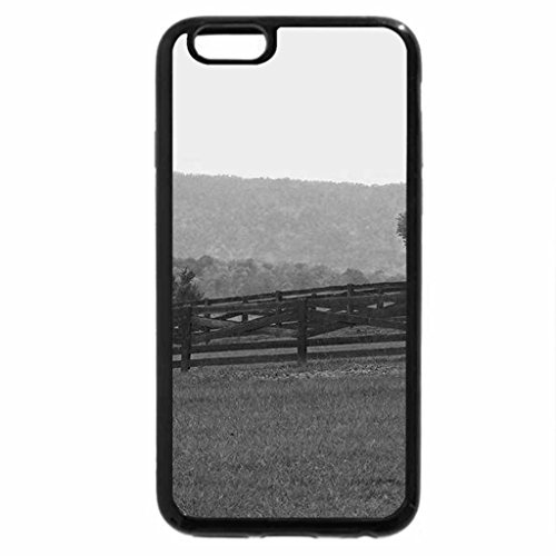 iPhone 6S Case, iPhone 6 Case (Black & White) - Touch of Autumn