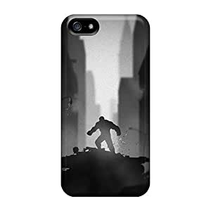 High Grade Ifans Flexible Tpu Case For Iphone 5/5s - Raging