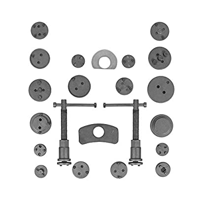 MOSTPLUS Universal Disc Brake Piston Caliper Compressor Tool Set for Brake Pad Replacement fit Most Model/Makes -22 Pieces: Automotive