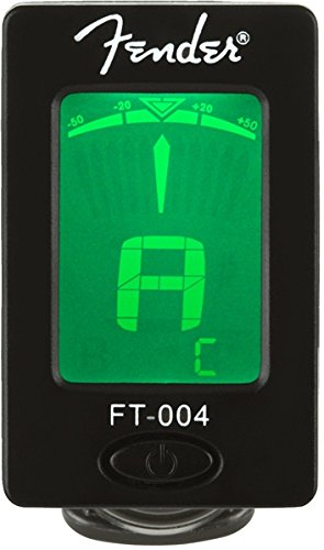 Fender Clip-On Tuner FT-004 for Guitar, Ukulele,...