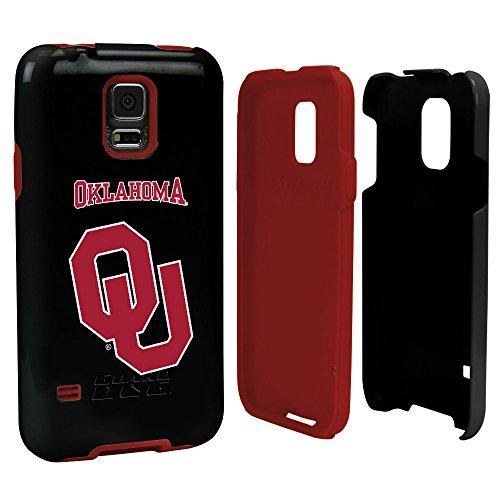 Oklahoma Sooners - Hybrid Case for Samsung Galaxy S5 - Black