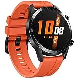 "Smartwatch Huawei GT 2 46MM 2019 Relógio Inteligente, Bluetooth 5.1, Tela 1,39"" Amoled 454x454 HD (Laranja)"