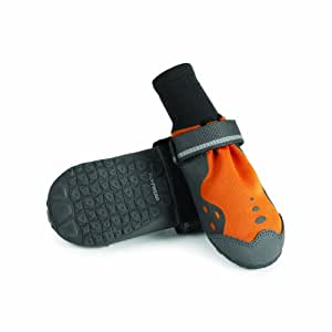 """Ruffwear - Summit Trex Everyday Paw Protection for Dogs, Burnt Orange, 3.0"""" (Set of 4)"""