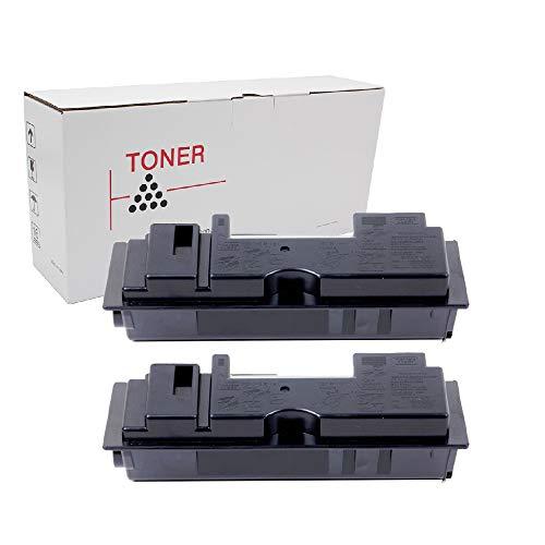 Hehua Compatible Kyocera-Mita TK18 TK-18 Black Toner Cartridge High Yield Replacement Kyocera Mita FS 1018MFP 1020D KM 1500 1820 1815 Printers - 7200 Pages (2 Pack)