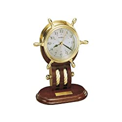 Howard Miller 613-467 Britannia Weather & Maritime Table Clock by Howard Miller