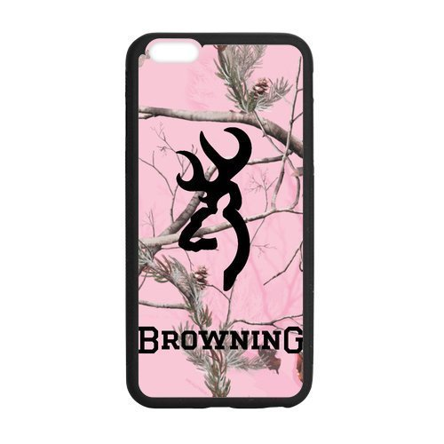 Pink Camo Camouflage Browning Cutter Logo Custom Case Cover Of iPhone7 iPhone 7 Plus 5.5