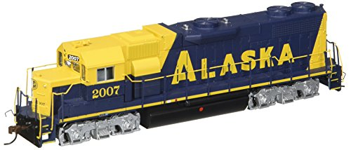 Bachmann Industries EMD GP38 2 DCC Alaska #2007 Sound Value Equipped Locomotive (HO Scale)