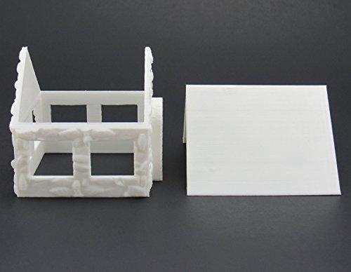 EnderToys Stone Houses, Terrain Scenery for Tabletop 28mm