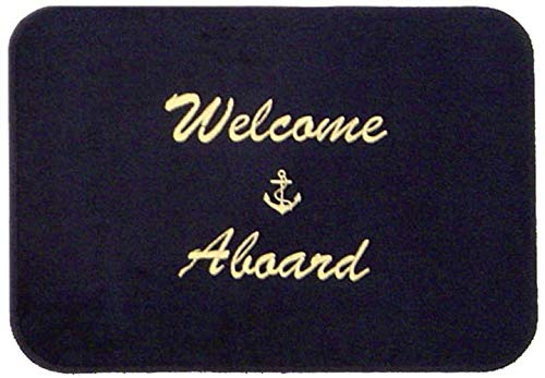 Cape Hatteras Welcome Aboard Boat - Welcome Mat Aboard