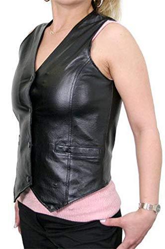 Classic B320 Ladies Leather Vest - 3X-Large