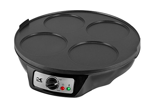 Kalorik CRM 43667 BK Pancake and Crepe Maker, Black