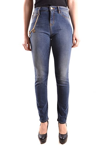 Love Moschino Women's Mcbi214037o Blue Cotton Jeans by Love Moschino