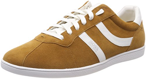 Tenn Medium 210 sdpf BOSS Brown Braun Rumba Herren Sneaker q7gwYEg