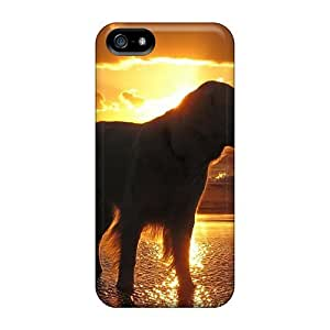 High-quality Durability For SamSung Galaxy S5 Phone Case Cover (retriever At Sunset)