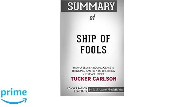 ship of fools tucker carlson book cover names