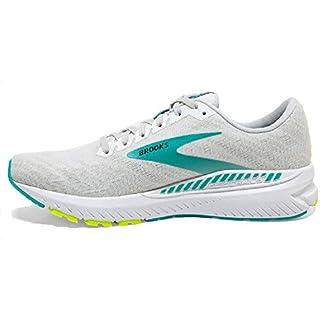 Brooks Womens Ravenna 11 Running Shoe - White/Nightlife/Atlantis - B - 9