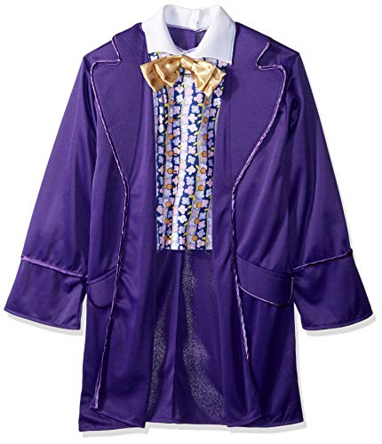 Rubie's Costume Kids Willy Wonka & The Chocolate Factory Willy Wonka Value Costume, Large ()
