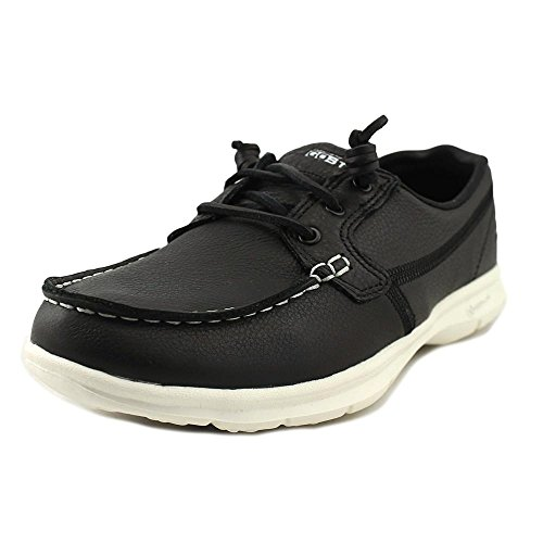 Skechers Womens Go Step Modish Boat Black B (m) Us Black