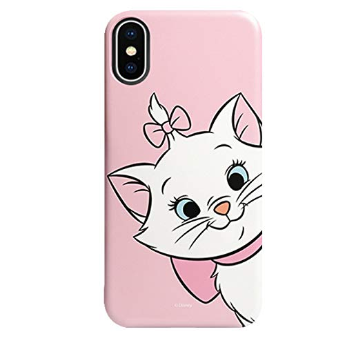 best service 18fc2 aff10 Amazon.com: Slim Soft TPU Marie Cat Case for iPhone Xs Max 6.5 Pink ...
