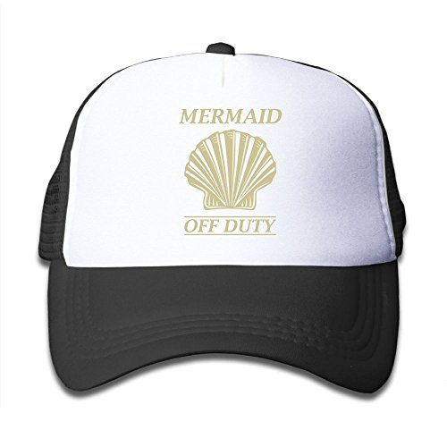 Mesh Baseball Hat Boys Mermaid Off Duty 4 Cute Adjustable