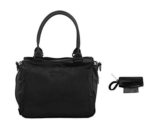 Ju-Ju-Be Be Classy Diaper Bag Black Out + Oh Baby Bags Diape
