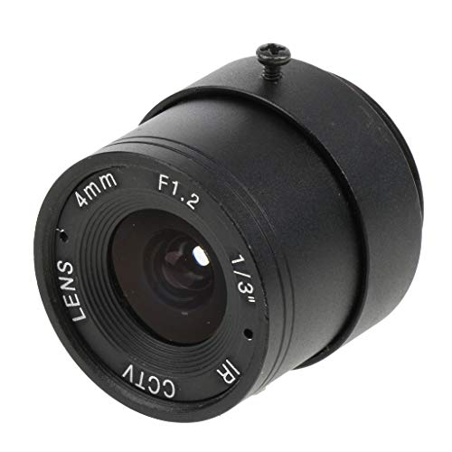 SM SunniMix 4mm F1.2 1 Mega Pixels Fixed IRIS IR CCTV Lens CS Mount Lense for Security IP Camera
