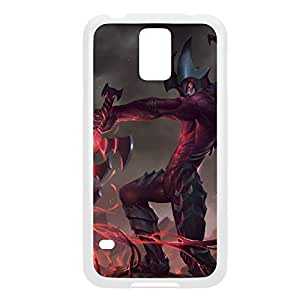 Aatrox-002 League of Legends LoL Case For iphone 6 plus Cover - Plastic White