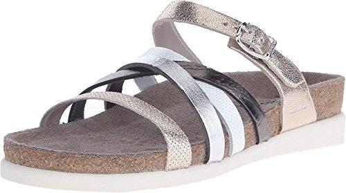 - Mephisto Womens Huleda Leather Platinum Sandals 9 US