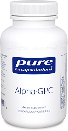 Pure Encapsulations Alpha GPC Neurotransmitter Phospholipid