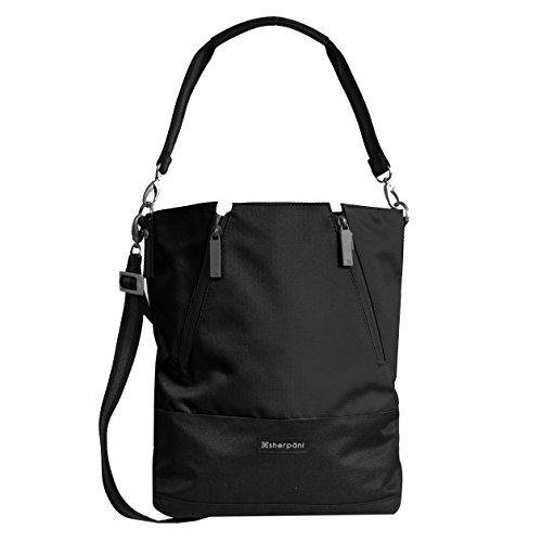 Sherpani Women's Devyn Bucket Bag, Raven, One Size (Cross Raven Body)
