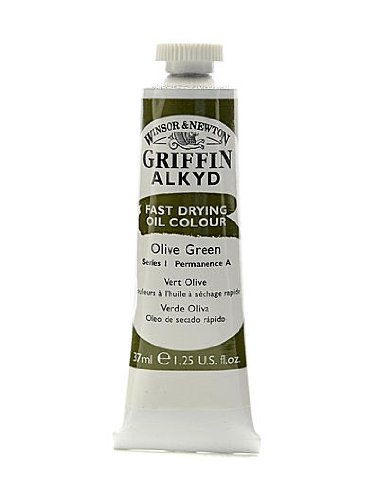 winsor-newton-griffin-alkyd-oil-colours-olive-green-37-ml-447