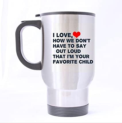amazon com fashionable mugs for mom dad from daughter son funny