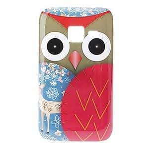 MOFY- Owl and Deer Caso duro del patr—n para Samsung Galaxy Ace Duos S6802