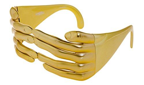 LINDA FARROW Jeremy Scott Gold Fashion Accessory JS/HANDS - Farrow Linda Jeremy Scott