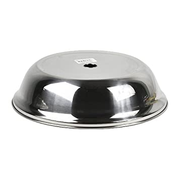 High Quality Stainless Steel Mirror Finish Dinner Plate Cover 24cm Silver New  sc 1 st  Amazon.com & Amazon.com | High Quality Stainless Steel Mirror Finish Dinner Plate ...