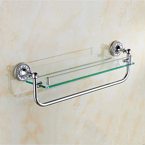 (Plateau of Shower Extremely Closes All The Racks of Copper Double Glazing Bathroom Vanity with Bathroom with Hair-Towels Pole Hardware Pendentif Ensuring The Quality (Size: A))