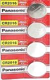4 Pcs -- Panasonic Cr2016 3v Lithium Coin Cell Battery Dl2016 Ecr2016