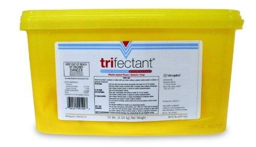 Tomlyn Trifectant Disinfectant - Tomlyn Trifectant Disinfectant Powder, 10 Lb by Vetoquinol