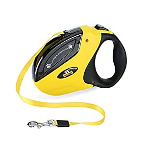 Pet Neat Retractable Dog Leash with Break and Lock Button - Free eBooks - Premium Quality - 10 Ft - Suitable for Small and Medium Dogs - Up to 44 lbs - 100% Life Time Guarantee