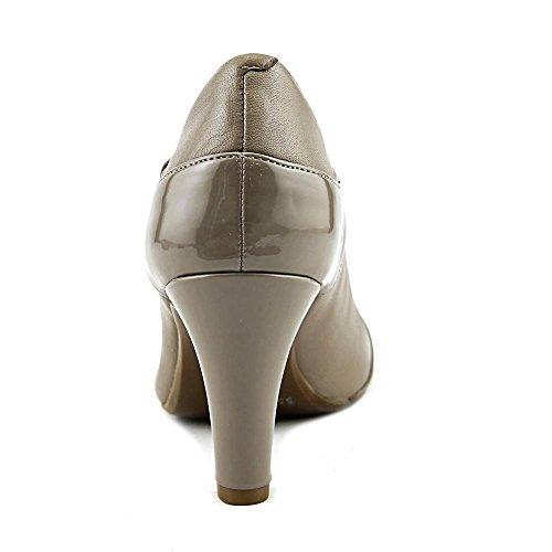 Pumps Leather Womens Classic T Bernini Giani Mushroom Closed Toe Vineza Strap Atnz5Swq