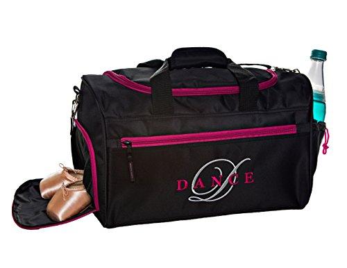 Horizon Dance 3405 Dee Embroidered Duffel Bag for Dancers ()