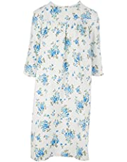 Personal Touch Women's Adaptive Flannel Backwrap Gown