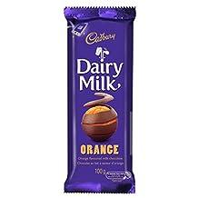 Cadbury Dairy Milk Chocolate Orange, 100g