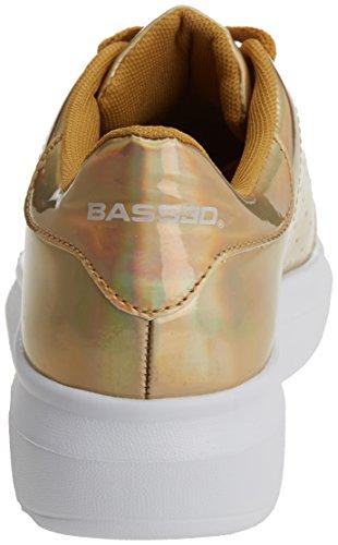bass3d 041281, Zapatillas para Mujer Dorado (Oro)
