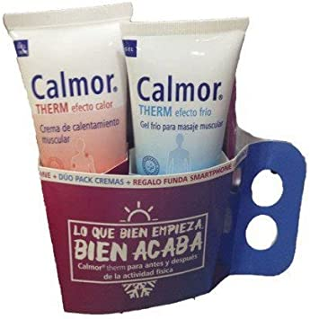 CALMOR THERM DUO PACK CREMAS (EFECTO FRIO Y EFECTO CALOR): Amazon ...