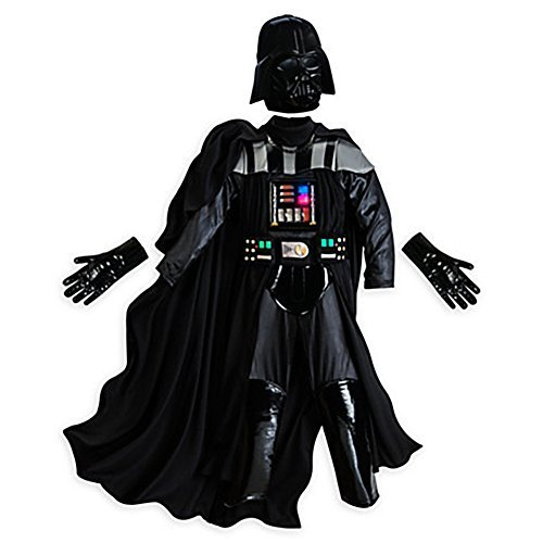 Disney Store Star Wars The Force Awakens Darth Vader Costume Size 11/12 - Darth Vader Costume Kids