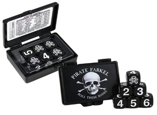 Legendary Games Pirate Farkel Roll These Bones Dice Game