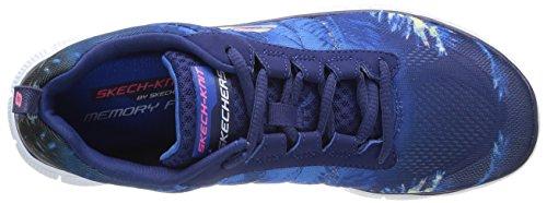 fitness Bleu Flex de Skechers Trade Nvy Winds Appeal Chaussures femme FWqHT1